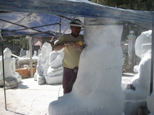 160_marble carving