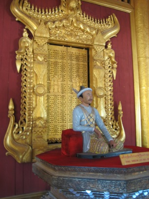 194_King Mindon on the Lion throne