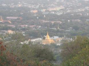 280_Kuthodaw pagoda from Mandalay Hill