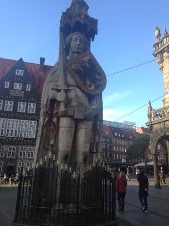 Bremen's Roland Statue