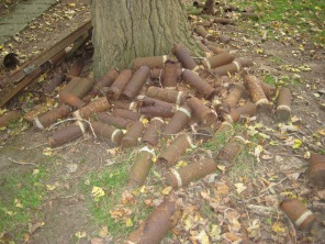Abandoned ammunition