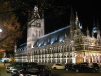Cloth Hall by night, Ypres