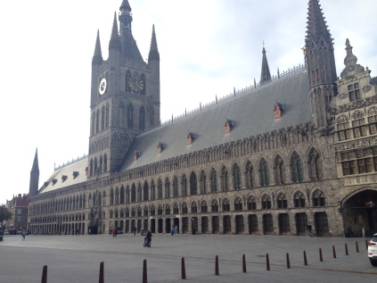 Cloth Hall by day, Ypres