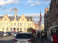 Town Hall and Market square, Ypres