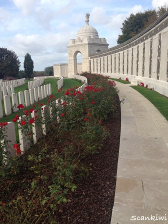 Tyne Cot Cemetery Memorial Wall