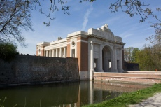 The gate as seen from outside the city, Menin Gate