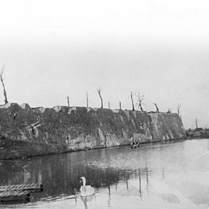 The ramparts of Ypres 1917