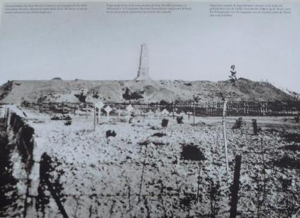 The Butte Polygon Wood with the Australian Memorial and cemetery