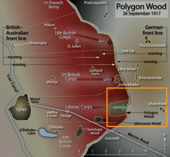 The Western Front - Passchendaele to Polygon Wood