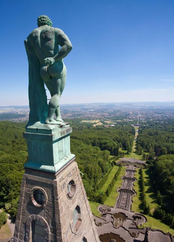 Hercules Monument aerial