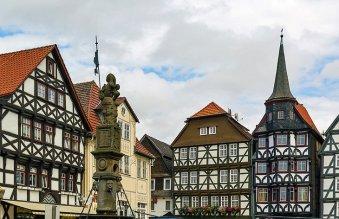 Kassel town centre