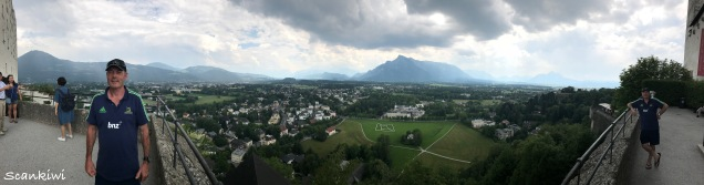 View south from the Hohensalzburg, double Dave