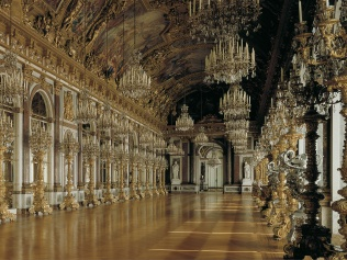 Herrenchiemsee Palace gallery of mirrors