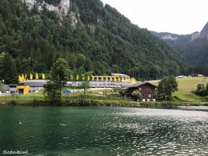 Königsee bobsleigh track 1