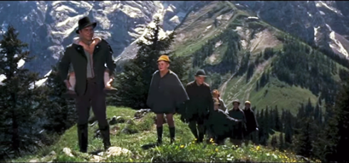 Final scene - Sound of Music - Obesalzberg