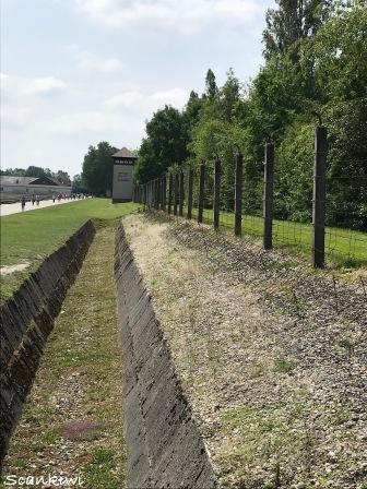 Dachau Concentration Camp - No mans land