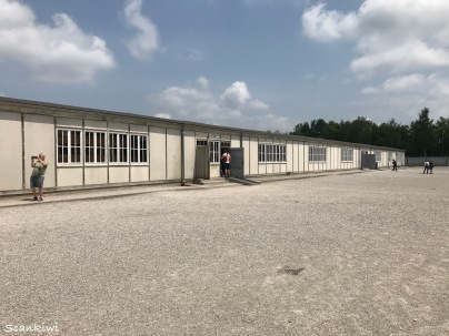 Dachau Concentration Camp - rebuilt barrack on the site of Block A