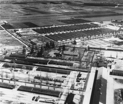 Aerial View Dachau 1940s