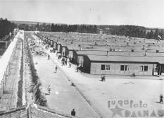 Aerial View Dachau Barracks 1940s