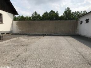 Execution wall, The Bunker, Dachau