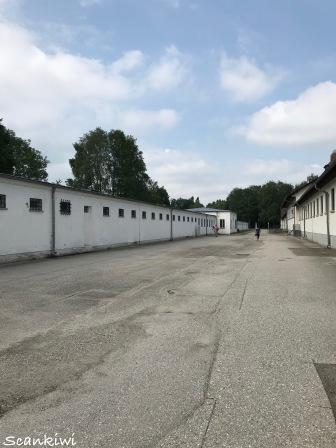 Courtyard, The Bunker, Dachau