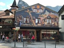 Painted buildings, Oberammergau