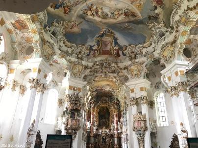 Rocco interior Wieskirche & High altar