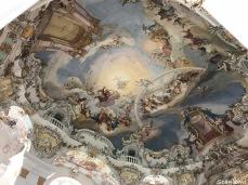 Frescos & Rocco interior Wieskirche