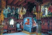 Neuschwanstein Castle - bedroom