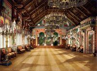 Neuschwanstein Castle - Hall of the singers