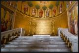 Neuschwanstein Castle - throne room dais