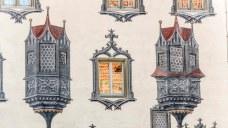 Hohes schloss - facade detail