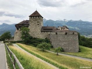 Vaduz Castle - residence of the Prince of Liechtenstein