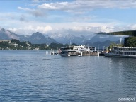 Lake Lucerne and Swiss Alps