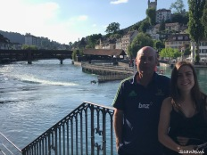 Dave & Steph, Ruess River, Lucerne, Switzerland