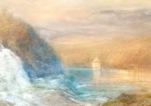 J.M.W. Turner - Rhine Falls of Schaffhausen