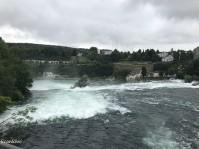 Above the Rhine Falls