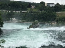 Above the Rhine Falls