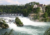 Rhine falls & the Laufen Castle