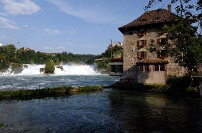 Rhine Falls & Schloss Wörth