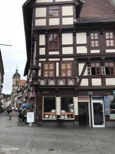 Orginal cross stimber houses