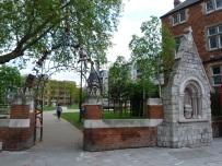 Ruins of the Church of St Mary Matfelon aka Whitechapel