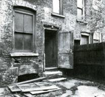 Jack the Ripper - 29 Hanbury St. backyard