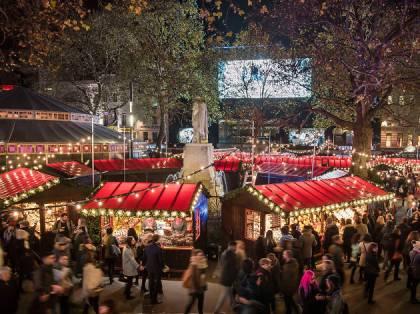 liecester square christmas