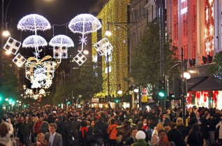 oxford street christmas 2