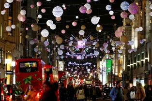 oxford street christmas