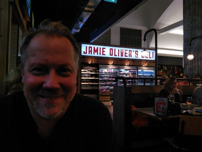 Dinner at Jamie's, Gatwick Airport