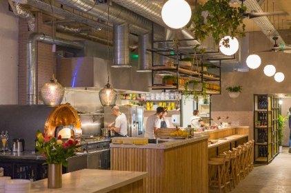 Amber Restaurant, Aldgate East