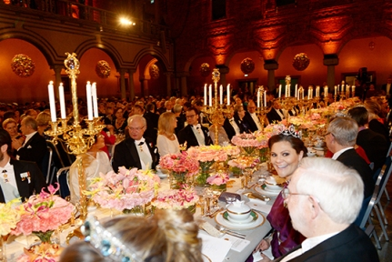 Crown Princess Victoria in the foreground