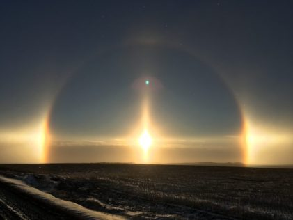 Image of a Sun dog